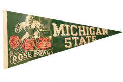 "Michigan State University Pennant 29"" Excellent condition from the 1954 Rose Bowl"